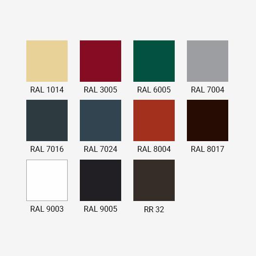 Варианты расцветки металлочерепицы Grand Line для покрытия Drap