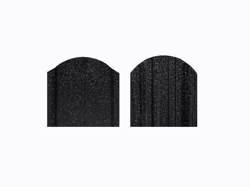 Чёрный Янтарь RAL 9005 Кварц
