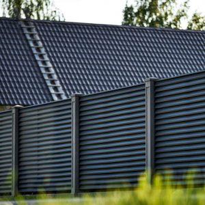 Забор-Жалюзи матовое покрытие